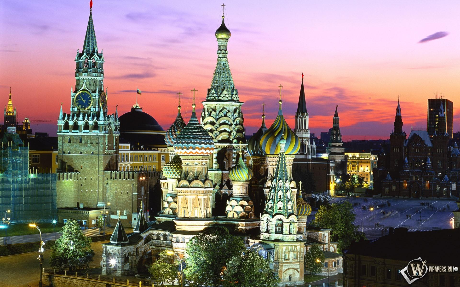 Москва - Красная площадь 1920x1200