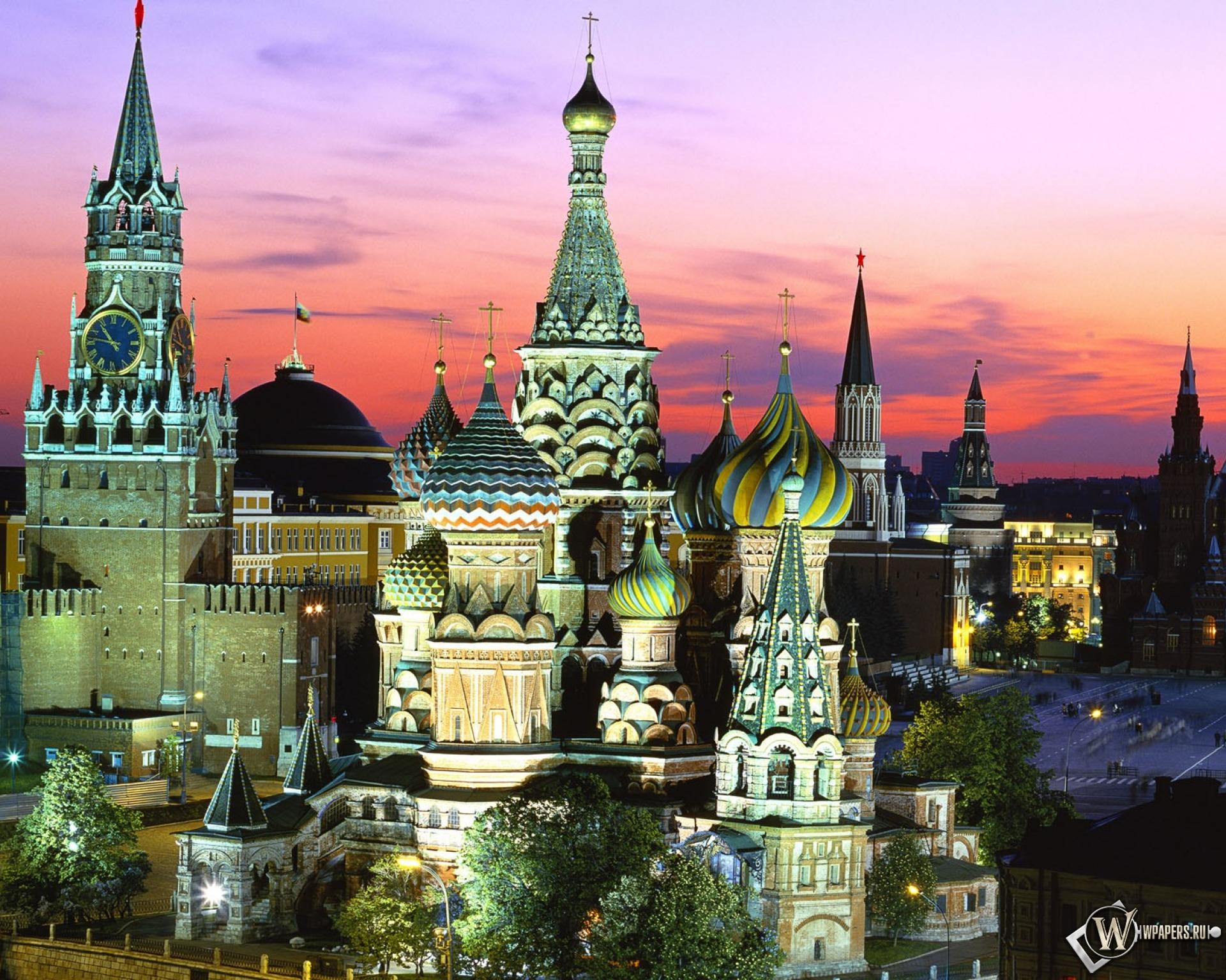 Обои москва красная площадь россия