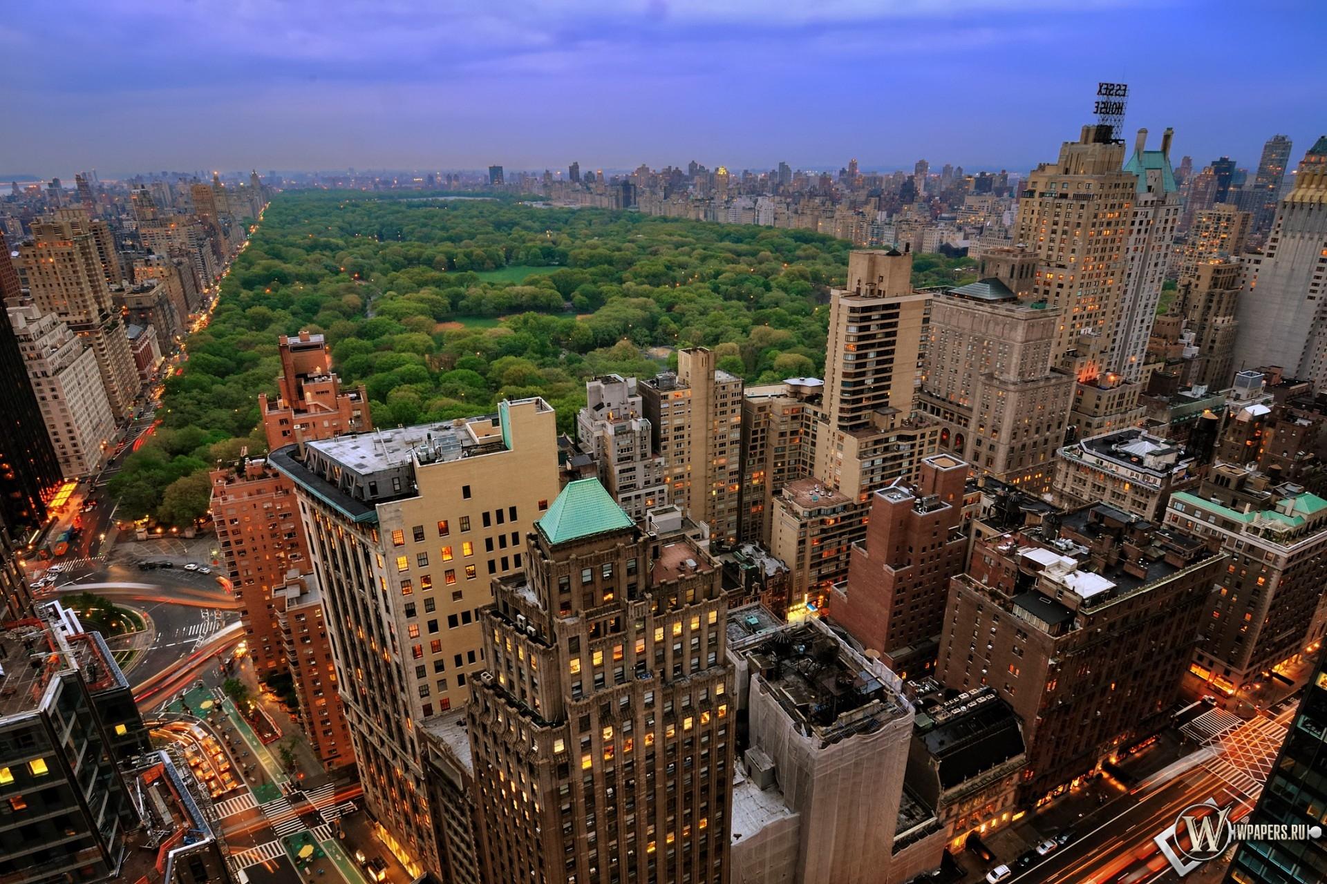Центральный парк (Нью-Йорк) 1920x1280