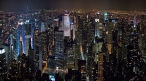 Обои Ночной Нью-Йорк: Город, Ночь, Города