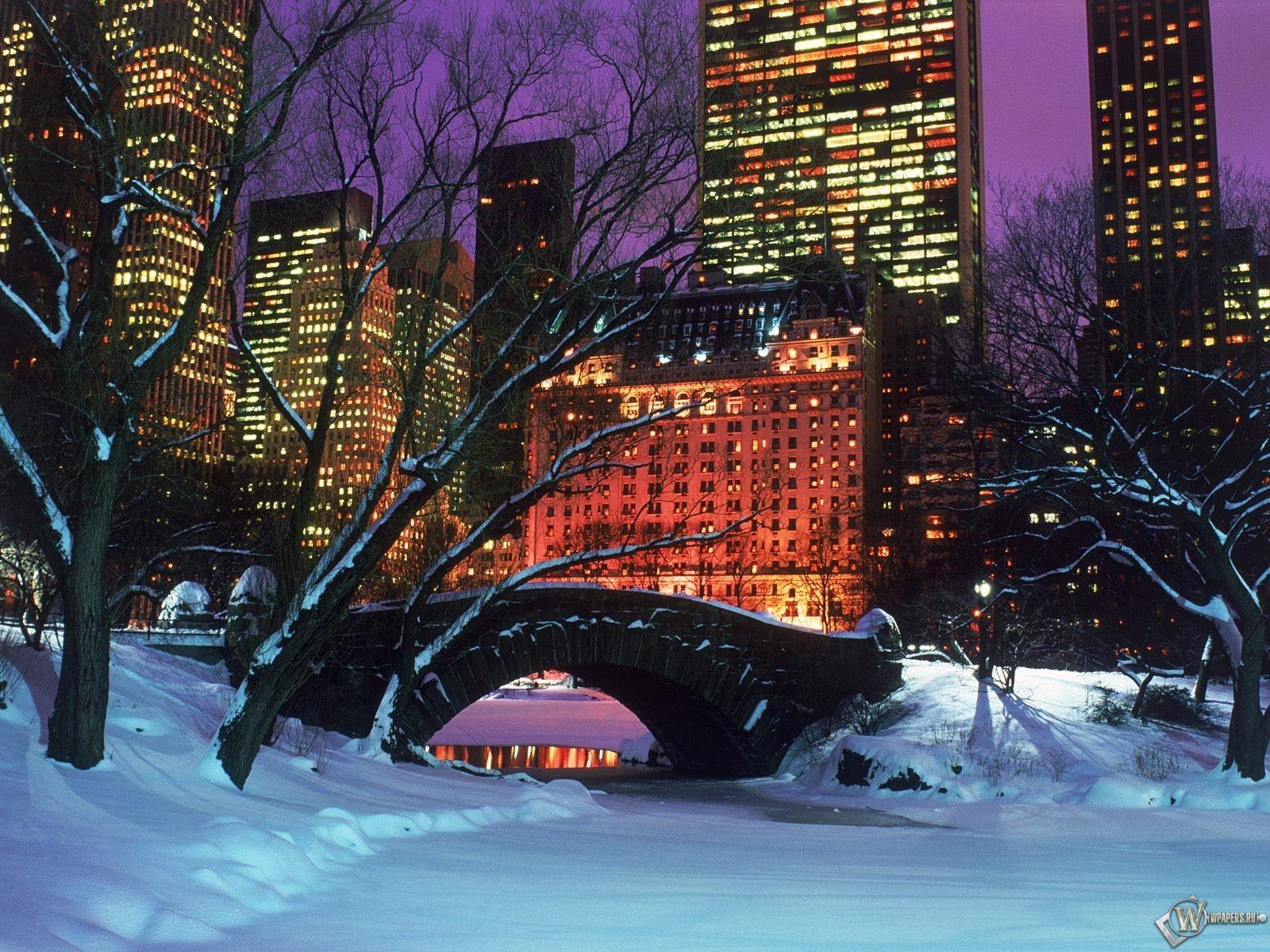 Нью-Йоркские парки 1600x1200