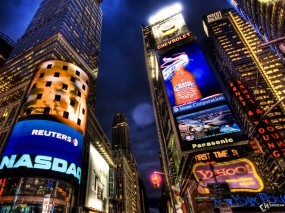 Обои New York NASDAQ: , New York