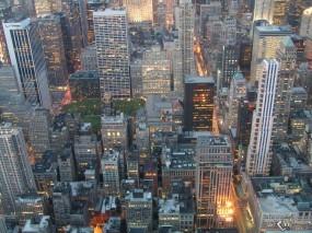 Обои New York city lights: , New York