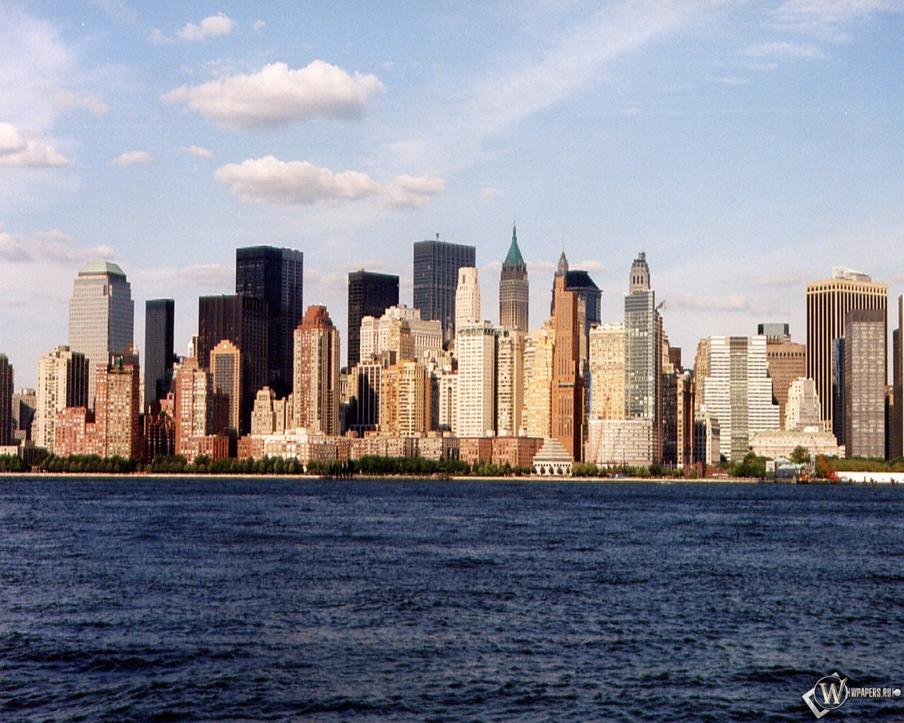 New York у воды 1280x1024