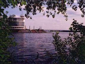 Обои Омск - Река: , Омск