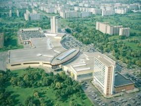 Обои Торгово-деловой комплекс в Омске: Омск, Комплекс, Омск