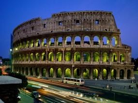 Обои Колизей : Италия, Колизей, Рим, Прочие города