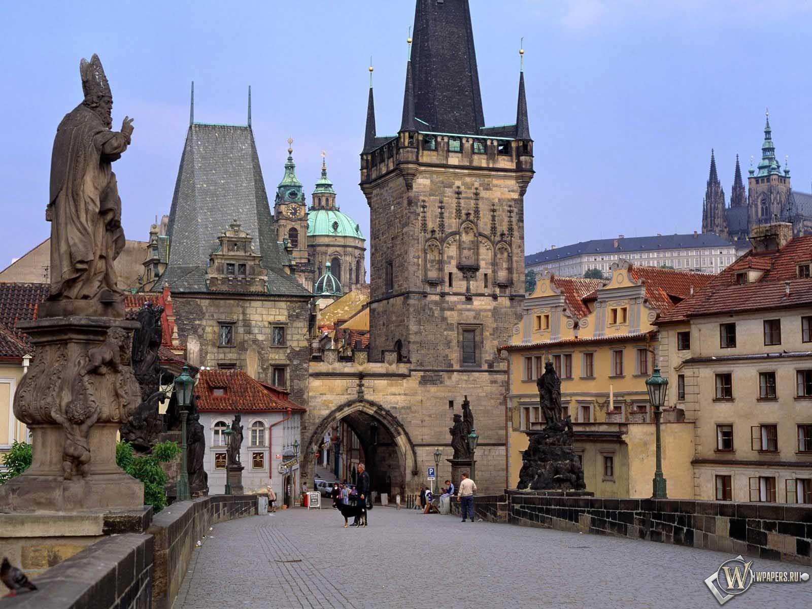 Карлов мост в Праге 1600x1200