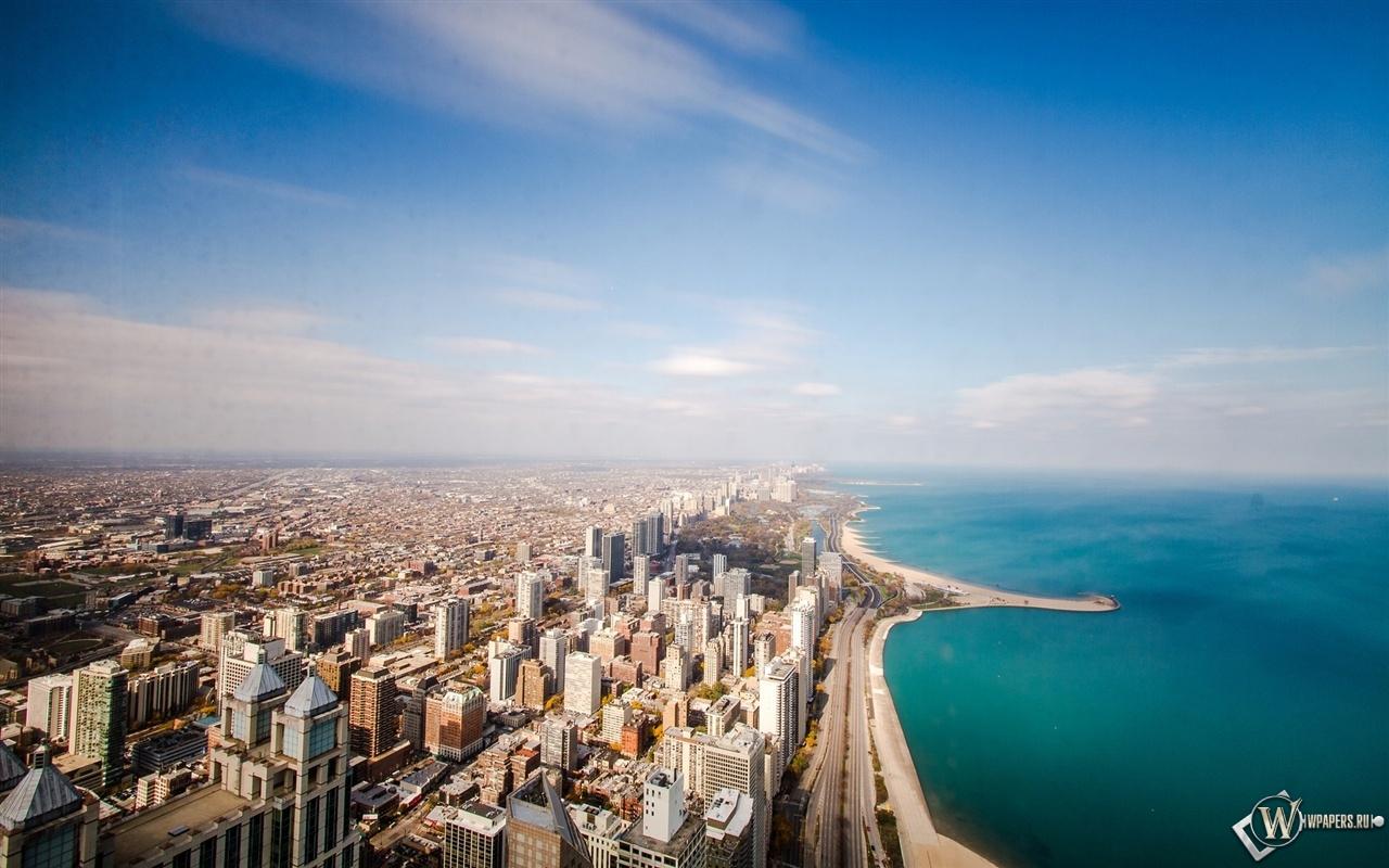 Чикаго штат Иллинойс 1280x800