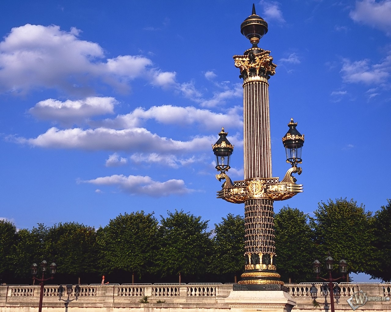 Франция - Башни - Колонны 1280x1024