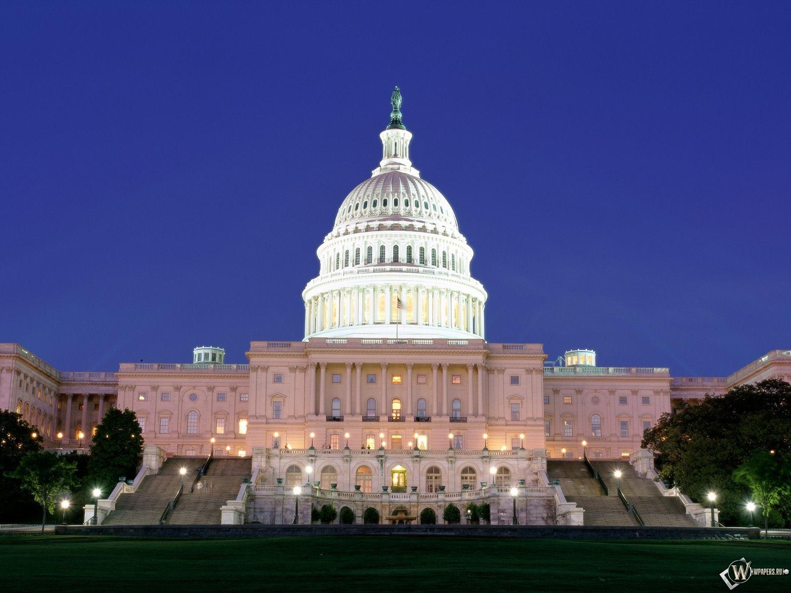 Вашингтон Капитолий 1600x1200