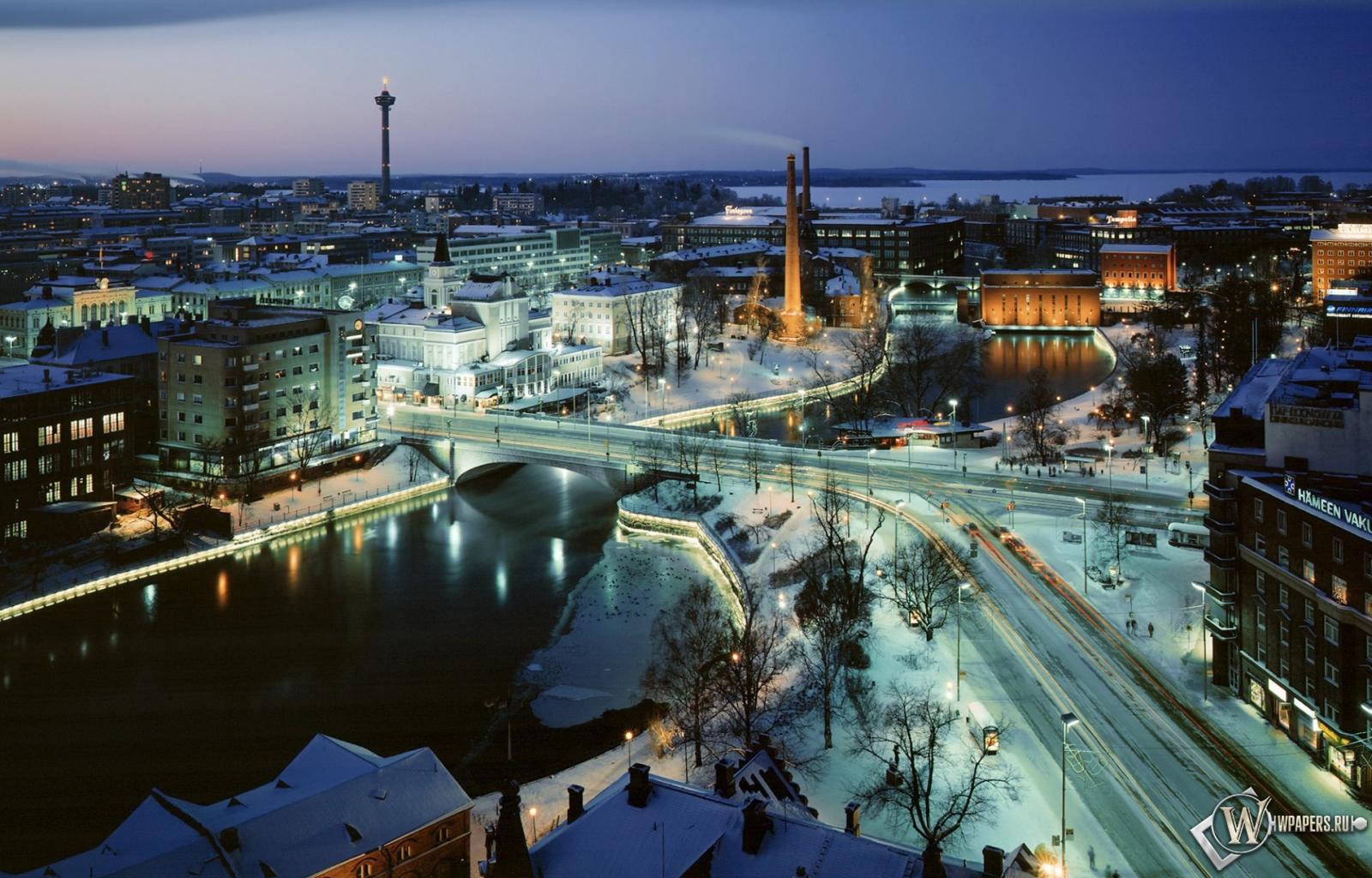 Финляндия тампере 1366x768