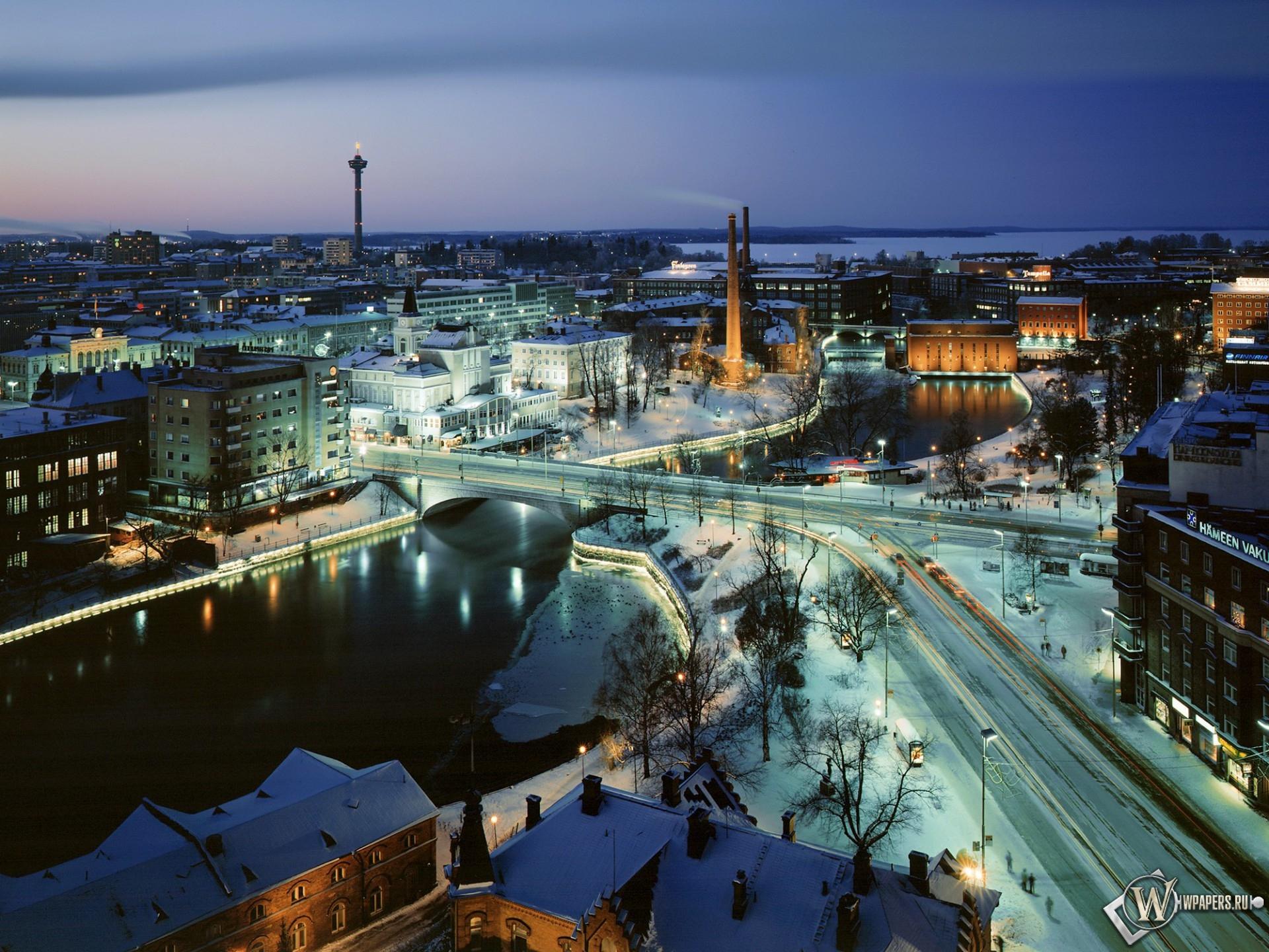 Финляндия - Тампере 1920x1440