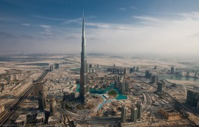Обои Burj Dubai: Башня, Burj Dubai, Дубай, Прочие города