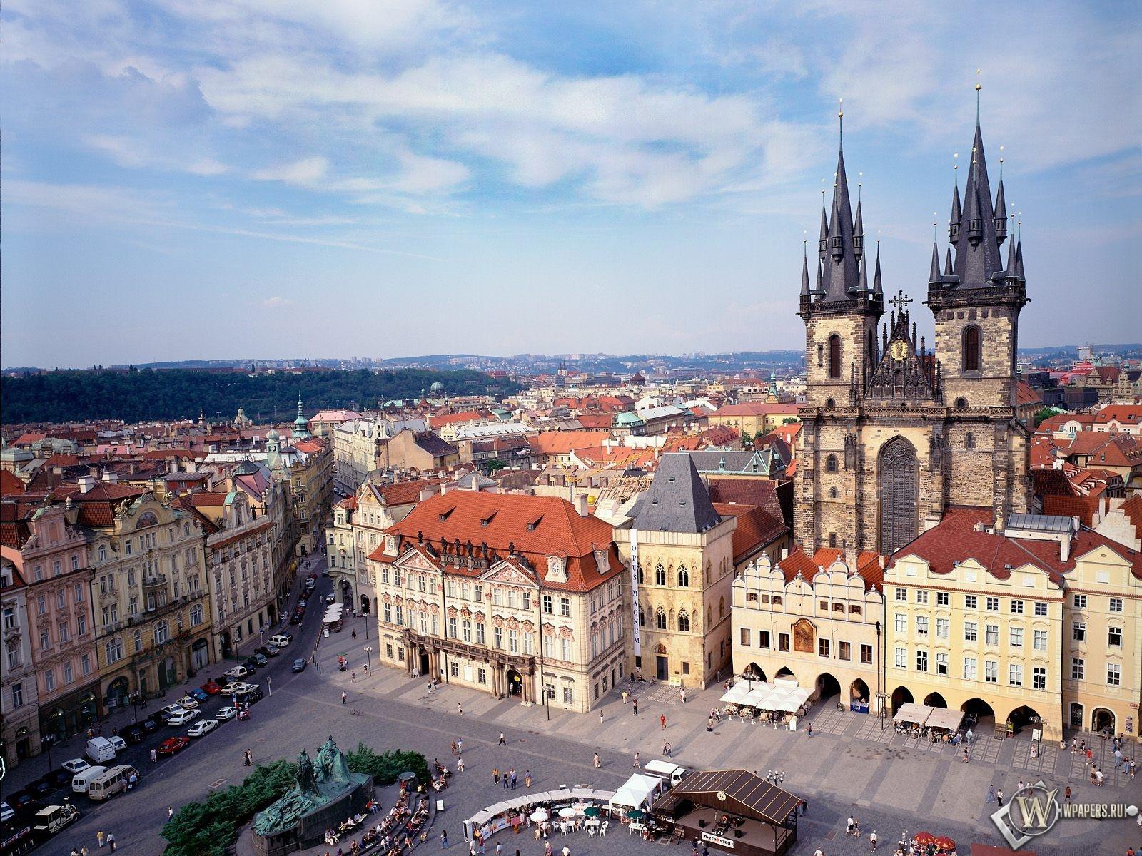 Old Town Square в Праге 1600x1200
