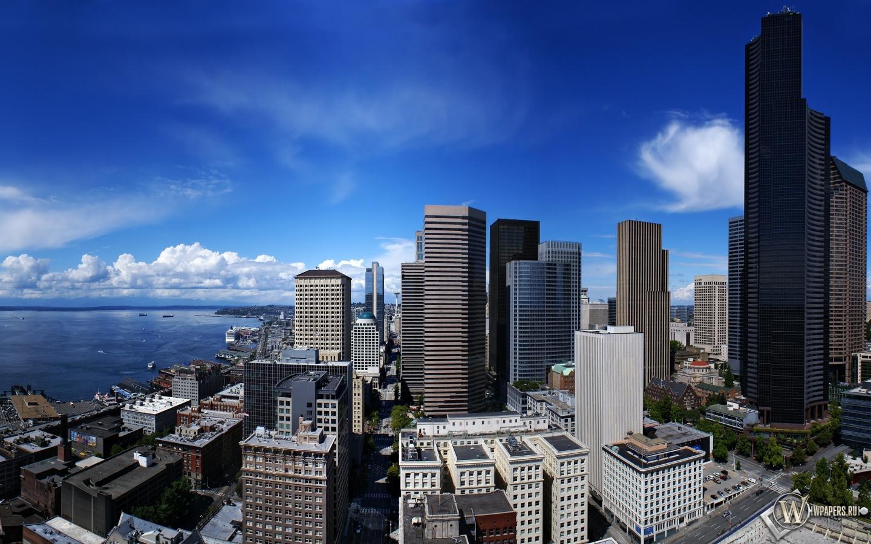 Seattle сиэтл seattle сша 1440x900 картинки