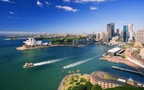 Обои Сидней: Небоскрёбы, Сидней, Корабли, Прочие города