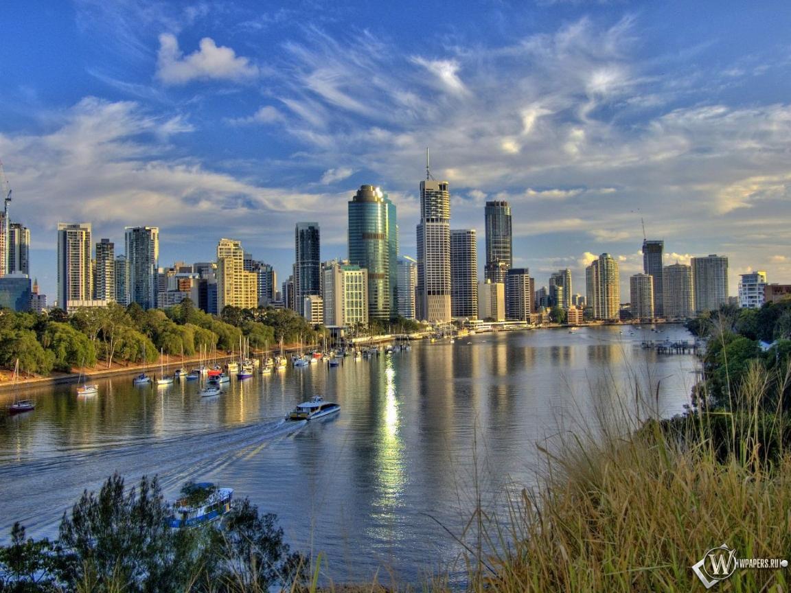 Обои австралия река австралия 1152x864