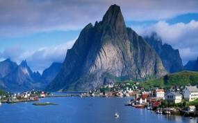 Обои Норвегия: Горы, Норвегия, Norway, Климат, Прочие города