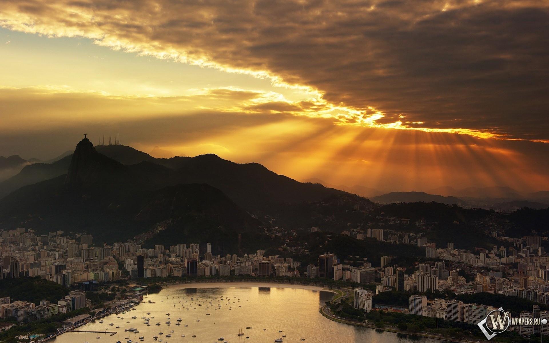 Рио Де Жанейро 1920x1200