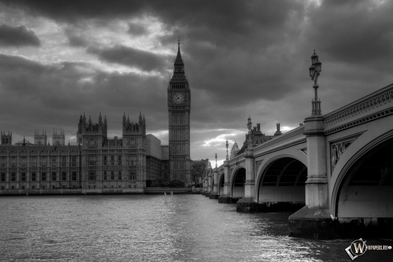 Обои лондон башня часы лондон 1500x1000