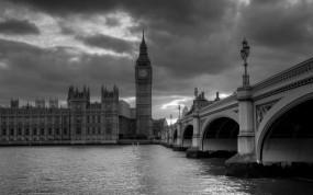 Обои Лондон: Башня, Часы, Лондон, Города