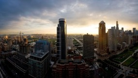 Обои Большой город: Город, Небоскрёбы, Дома, Панорама, Прочие города