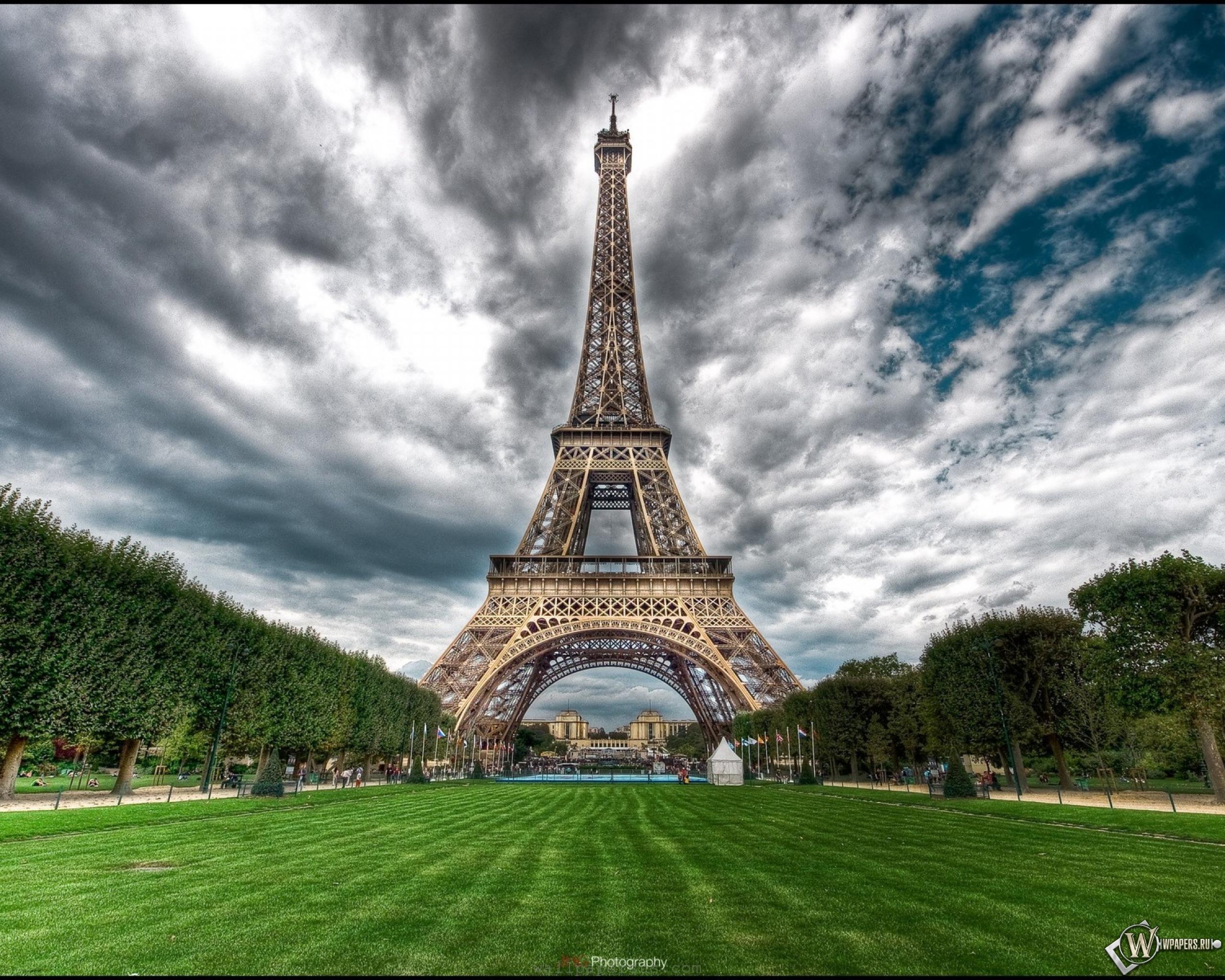 природа страны архитектура Марсово поле Париж Франция  № 824052 загрузить