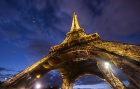 Обои Эйфелева башня: Город, Франция, Париж, Париж