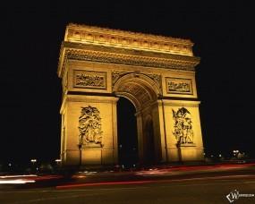 Обои Триумфальная арка - Париж: , Париж