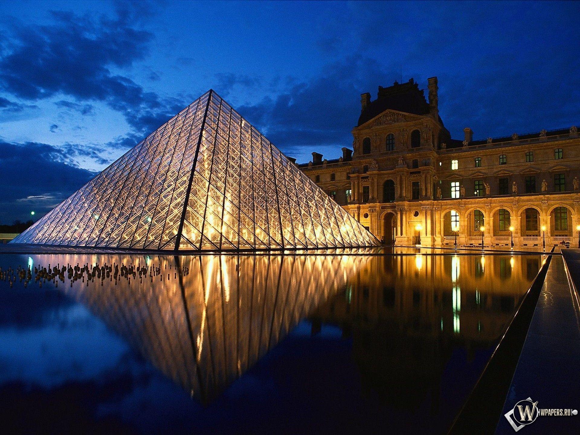 Лувр - Париж - Франция 1920x1440