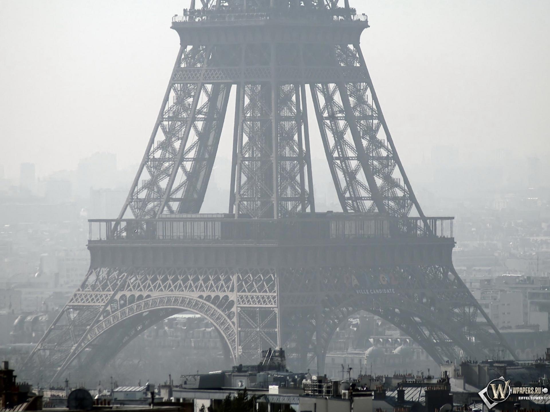 Париж эйфелева башня 1920x1440 картинки