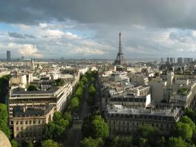 Обои Париж: Франция, Париж, Эйфелева башня, Города