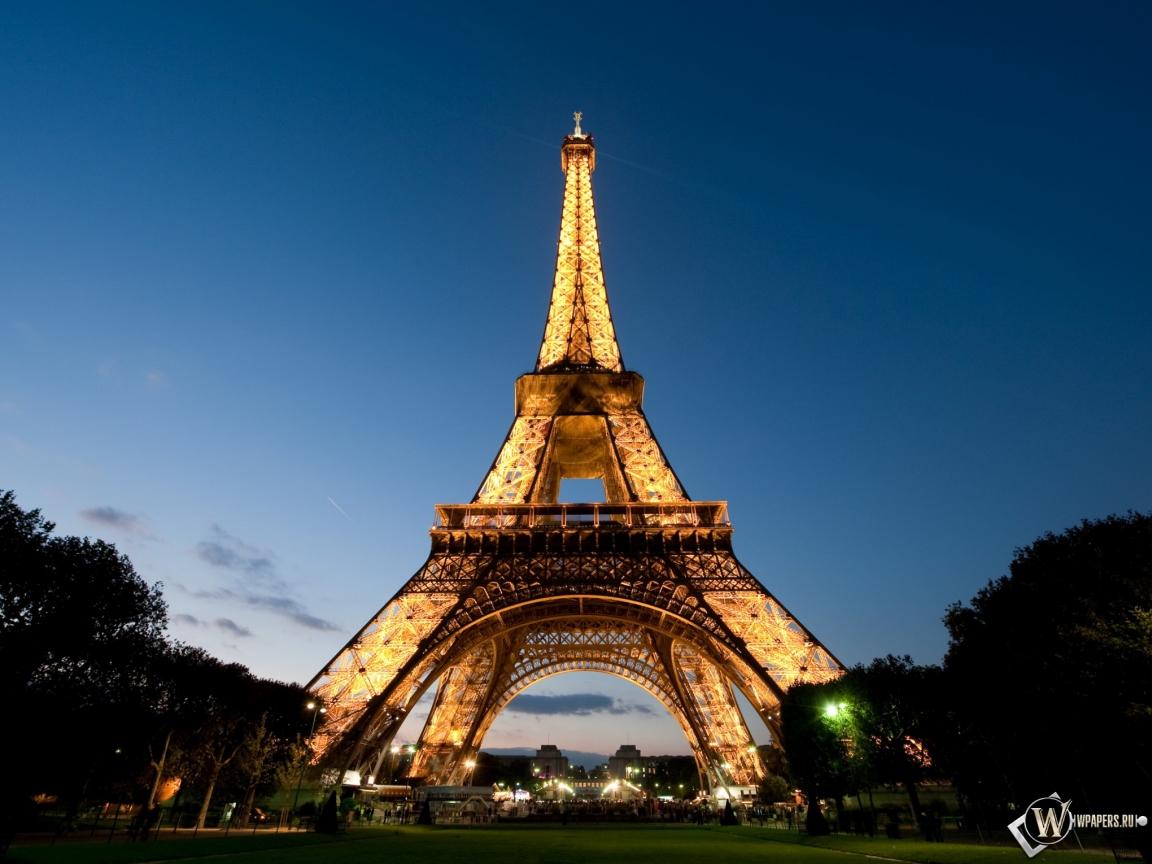 Эйфелева башня 1152x864