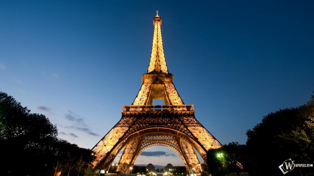 Эйфелева башня 1280x720