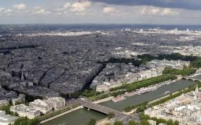 Обои Париж: Город, Дома, Париж, Города