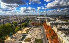 Обои Париж: Мегаполис, Париж, Города