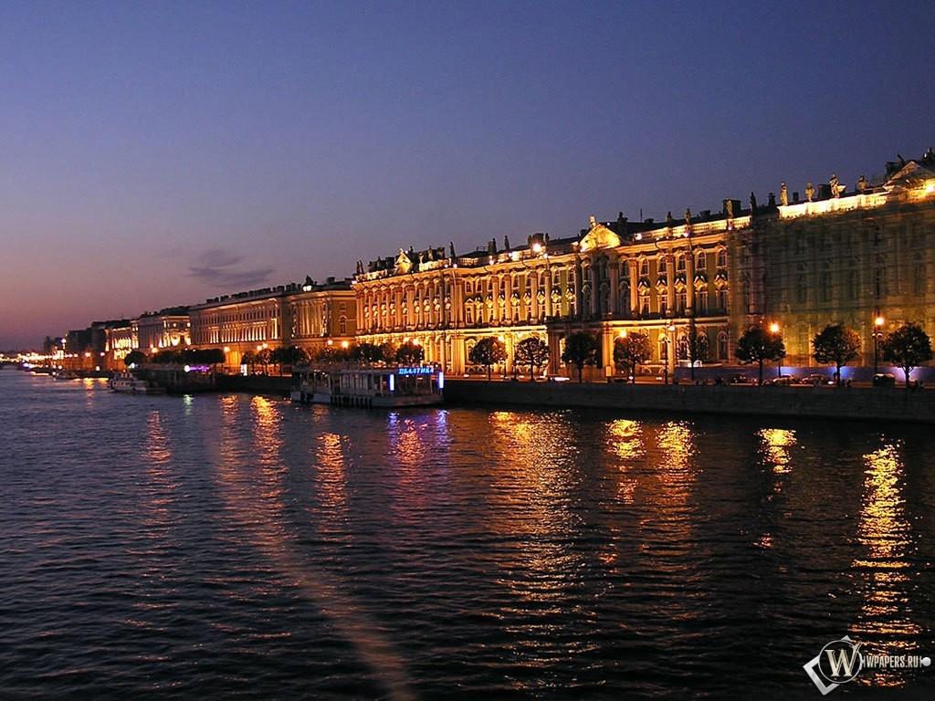 Река Санкт-Петербург 1024x768