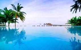 Обои Тайланд: Море, Бассейн, Таиланд, Города и вода