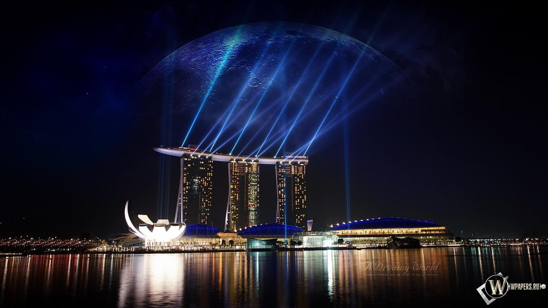 Сингапур 1920x1080