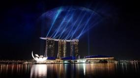 Обои Сингапур: Город, Ночь, Сингапур, Города и вода
