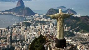 Обои Статуя Христа в Бразилии: Вода, Город, Здания, Статуя, Бразилия, Города и вода