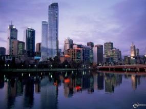 Обои Melbourne: Австралия, Мельбурн, Города и вода