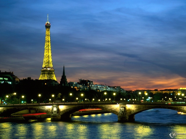 The River Seine in France Paris