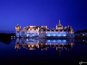Обои Сhateau de Сhantilly: Франция, Дворец, Города и вода