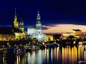 Обои Dresden Germany: Город, Германия, Города и вода