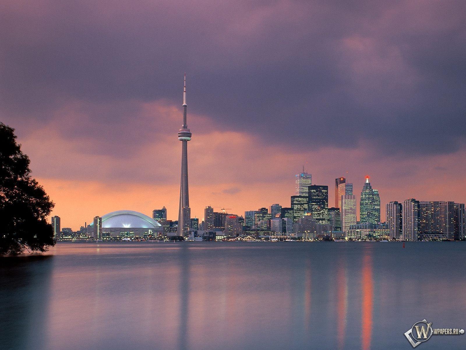Toronto Skyline Ontario Canada 1600x1200