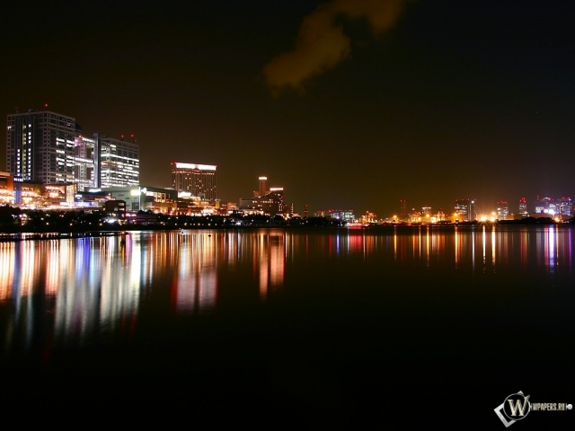 Город ночью