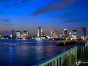 Обои Feng Jing: , Города и вода