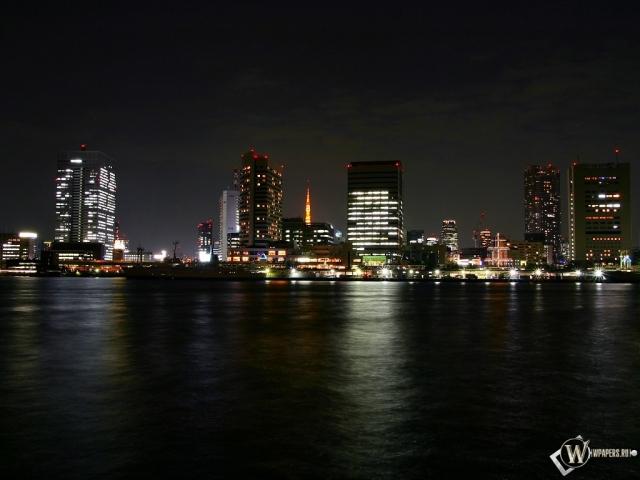 Огни ночного города
